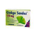 Hexal AG Ginkgo Sandoz 120 mg Filmtabletten, 30 St