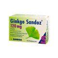 Hexal AG Ginkgo Sandoz 120 mg Filmtabletten, 120 St