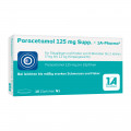 Paracetamol 125 mg 1A Pharma Suppositorien