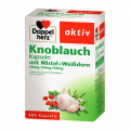 Queisser Pharma GmbH & Co. KG Doppelherz aktiv Knoblauch Kapseln mit Mistel + Weißdorn, 480 St