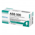 Zentiva Pharma GmbH ASS 500 Acetylsalicylsäure 500 mg Tabletten, 50 St