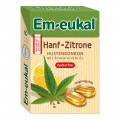 Dr. C. SOLDAN GmbH Em-eukal Hanf-Zitrone Bonbons Box zuckerfrei, 50 g