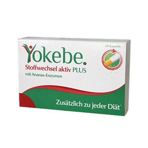 Yokebe Plus Stoffwechsel Aktiv Kapseln 28 St - Abnehmen..