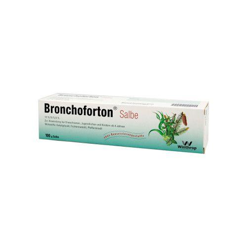 Bronchoforton Salbe Schwangerschaft